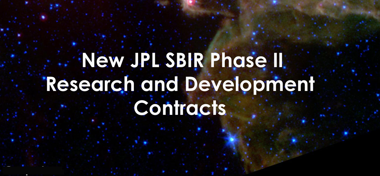 JPL SBIR Phase II Contracts